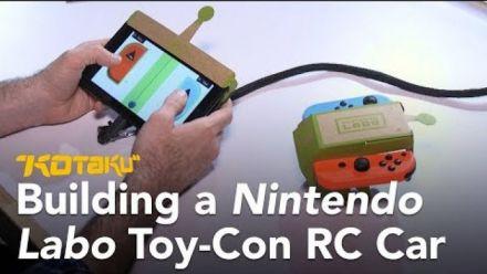 vidéo : Nintendo Labo : Multi-Kit : Découverte de Kotaku 2