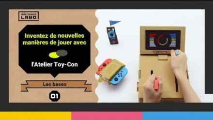 Vid�o : Nintendo Labo : Présentation du Toy-Con Garage