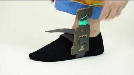 Vid�o : Nintendo Labo : Enfiler le costume du Robot