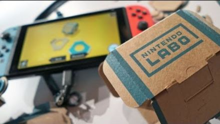 vidéo : Nintendo Labo : Kit Robot : Découverte de Strazdas