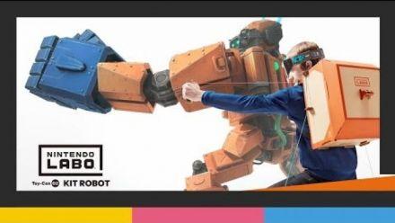 Vid�o : Nintendo Labo - Toy-Con 02 : kit Robot