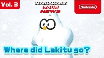 Mario Kart Tour : Trailer de la mise à jour hivernale