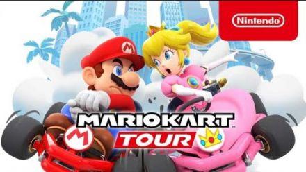 Vidéo : Mario Kart Tour : Bande-annonce multijoueur