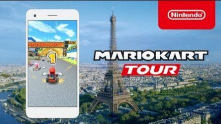 Mario Kart Tour : Trailer de la course en plein Paris