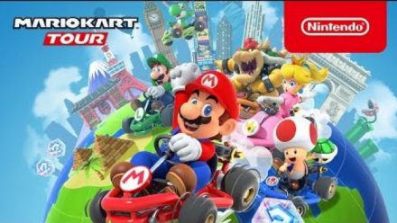 Mario Kart Tour : Release date trailer