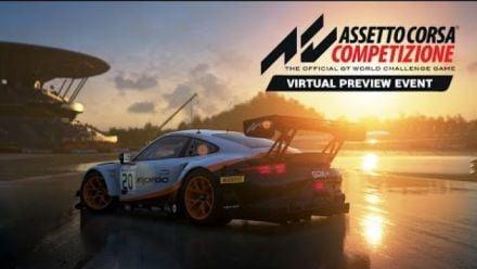 Vid�o : Assetto Corsa Competizione: GT esports w/ SRO Motorsports + Pro Sportscar Icons