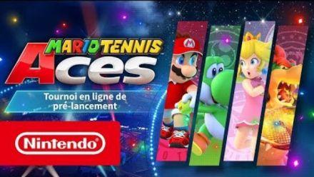 Mario Tennis Aces : Tournoi de pré-lancement