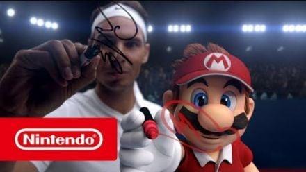 Mario Tennis Aces : Nadal et Mario s'affrontent en duel !