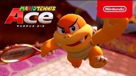 Mario Tennis Aces présente Boum Boum en vidéo