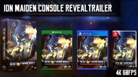 Vidéo : Ion Maiden : Trailer d'annonce sur consoles