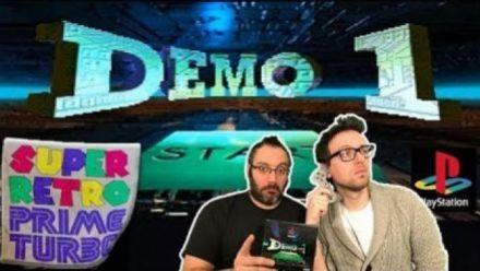 """Vid�o : Super Retro Prime Turbo : On a ressorti la fameuse """"Demo 1"""", le premier CD de démo de la PlayStation !"""