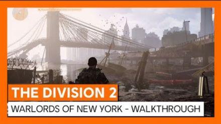 vidéo : The Division 2 : Aperçu de l'extension Warlords of New York
