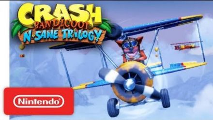 Vid�o : Crash Bandicoot N. Sane Trilogy - Launch Trailer - Nintendo Switch