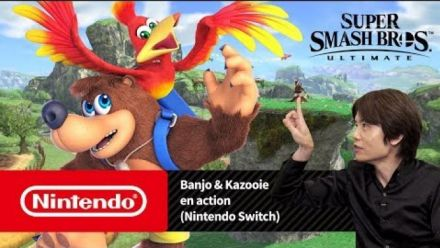 Super Smash Bros. Ultimate - Banjo & Kazooie en action