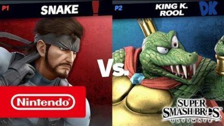King K. Rool vs. Solid Snake