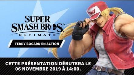 Super Smash Bros. Ultimate : Livestream de Terry Bogard