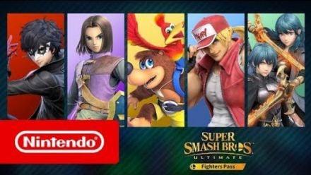 "Vidéo : Super Smash Bros. Ultimate : Bande-annonce ""available now"""