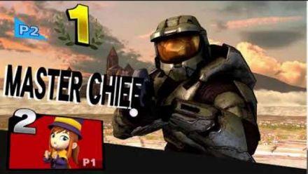 Smash Bros. Ultimate : L'animation de victoire de Master Chief