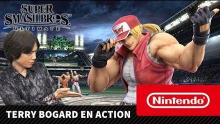 Super Smash Bros. Ultimate - Terry Bogard en action