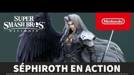 Super Smash Bros. Ultimate : Présentation de Sephiroth