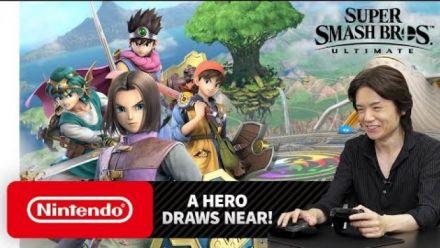 Super Smash Bros. Ultimate : Sakurai présente le héros de Dragon Quest