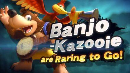 Super Smash Bros. Ultimate : Annonce de Banjo et Kazooie