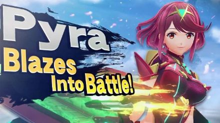 Super Smash Bros Ultimate : Bande-annonce de Pyra et Mythra.