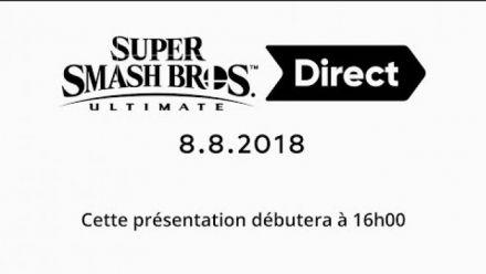 Super Smash Bros. Ultimate Direct 8/8/2018