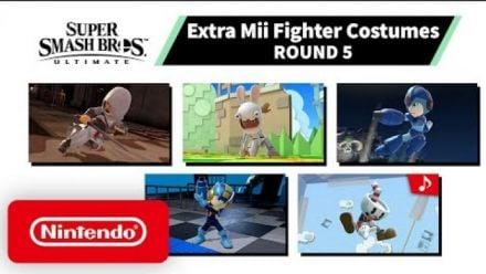 Vidéo : Super Smash Bros. Ultimate : Trailer des costumes Mii #5