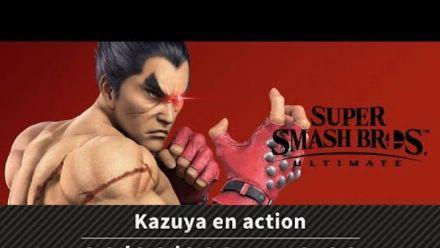 Super Smash Bros. Ultimate - Kazuya en action
