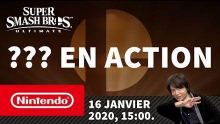 Super Smash Bros. Ultimate - ??? en action (Nintendo Switch)