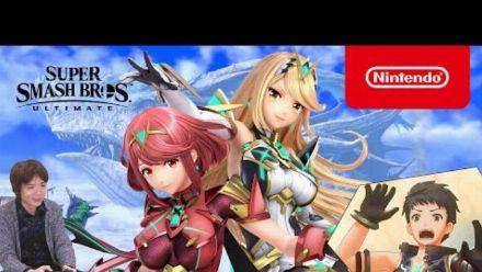 Super Smash Bros. Ultimate - Pyra/Mythra en action