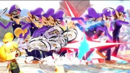 Super Smash Bros. Ultimate : Bug de Waluigi