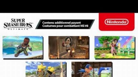 Super Smash Bros. Ultimate - Costumes pour combattant Mii #8 (Nintendo Switch)