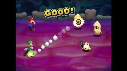 Mario & Luigi : Vidéo de gameplay 2/4