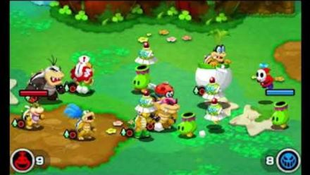 vidéo : Mario & Luigi : Vidéo de gameplay 1/4