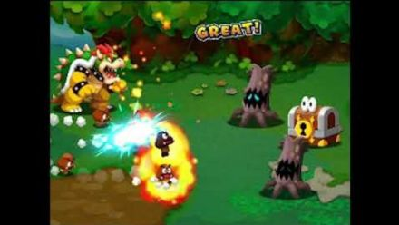 Mario & Luigi : Vidéo de gameplay 3/4