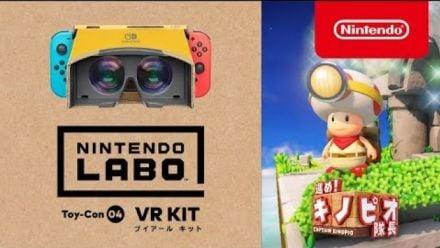 Captain Toad : Bande-annonce mise à jour VR Kit