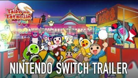 Vidéo : Taiko no Tatsujin Switch : Bande-annonce