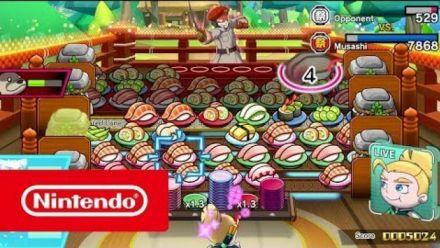 Vid�o : Sushi Striker The Way of Sushido :Trailer gameplay 8 mars 2018