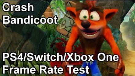 Vid�o : Crash Bandicoot N.Sane Trilogy : Le comparatif VGTech
