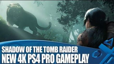 Shadow of the Tomb Raider : 6 minutes de gameplay PS4 Pro 4K (PlayStation Access)