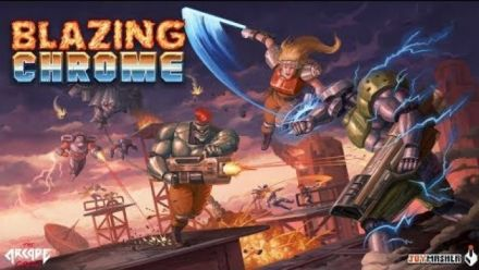 Blazing Chrome : Trailer de sortie sur Xbox One