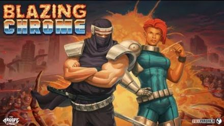 Blazing Chrome : Trailer de la date de sortie