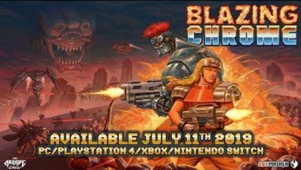 Blazing Chrome : Trailer de lancement