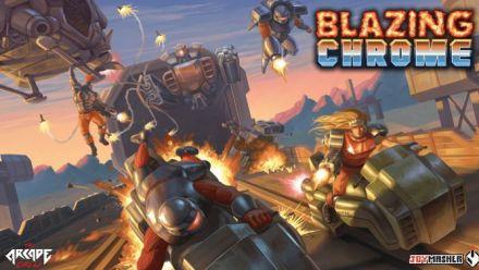 Blazing Chrome se dévoile pour sa sortie début 2019