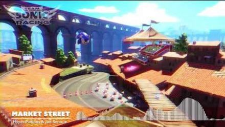 Team Sonic Racing : OST Market Street