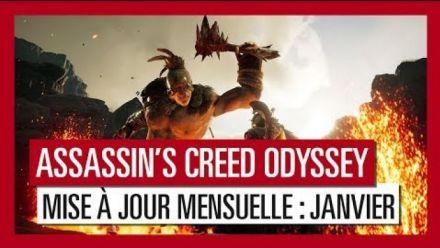 Assassin's Creed Odyssey - Mise à jour de Janvier 2018