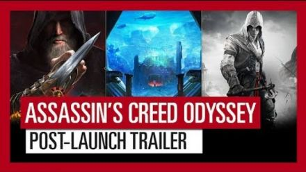 Assassin's Creed Odyssey : Trailer du contenu post-lancement