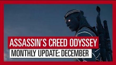 Assassin's Creed Odyssey détaille ses mises à jour de décembre